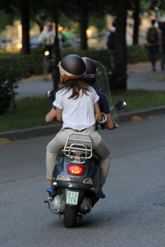 Dan solución al problema de los robos de motos