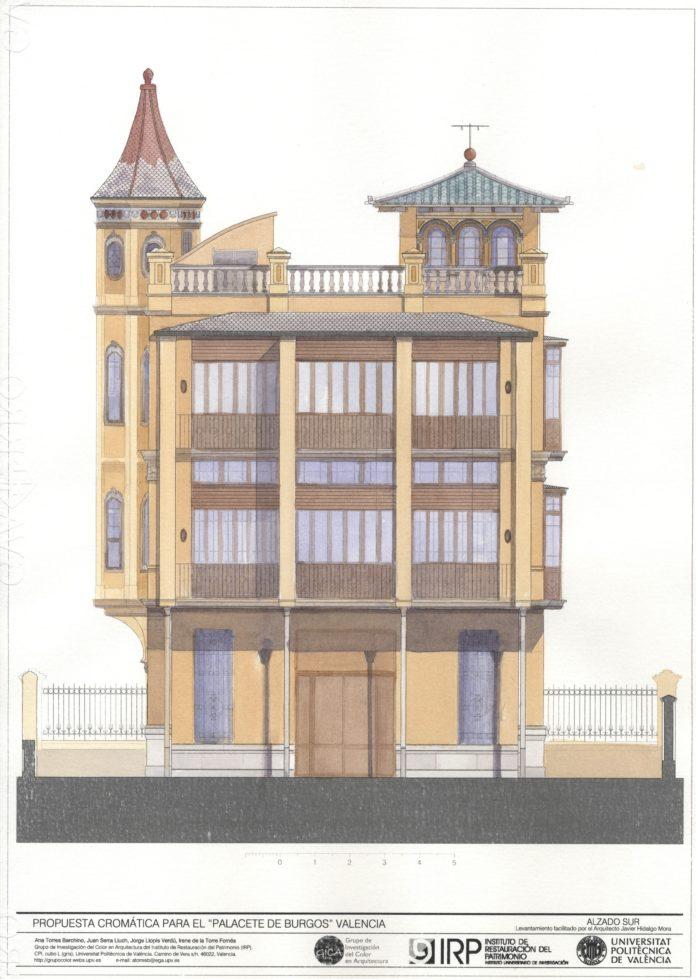 La UPV recupera el color original de la Casa del Médico de València
