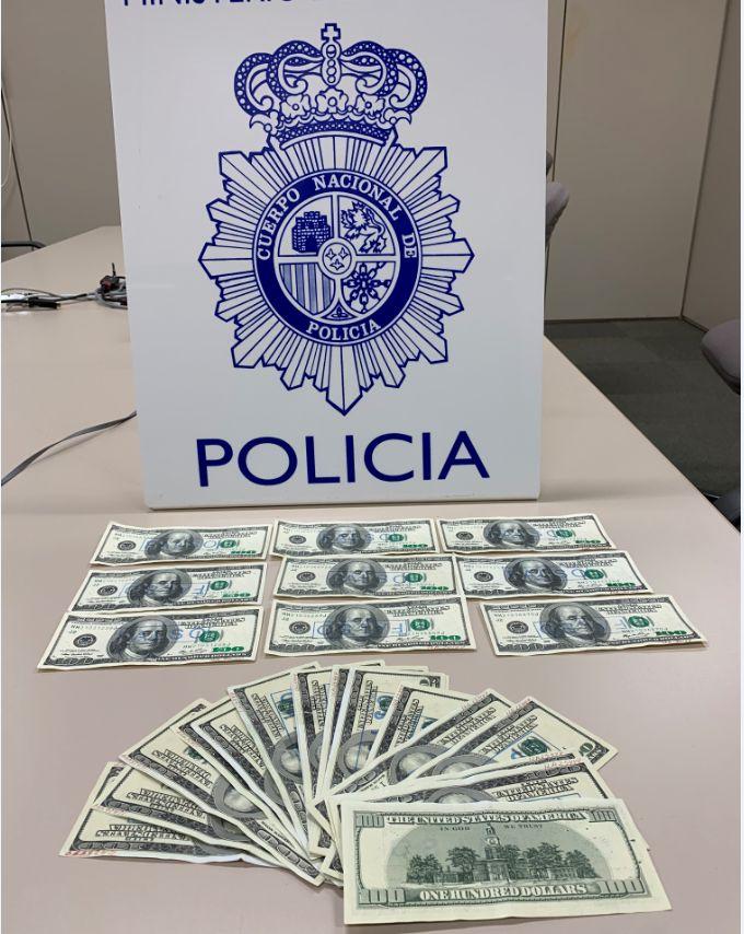 La Policía detiene a dos personas por distribuir billetes falsos en Córdoba