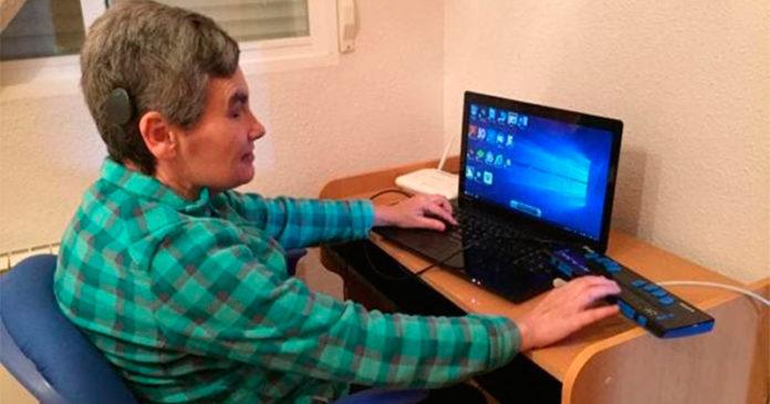 Escritora sordociega española gana el Concurso Europeo de Redacción sobre el Braille 2020