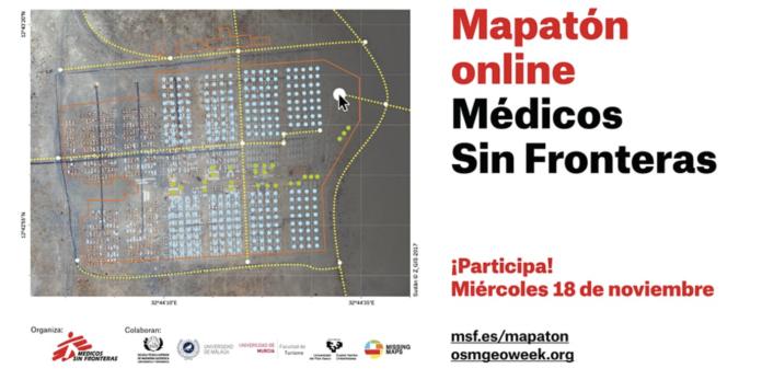 Nuevo Mapatón online para cartografiar zonas afectadas por desastres naturales