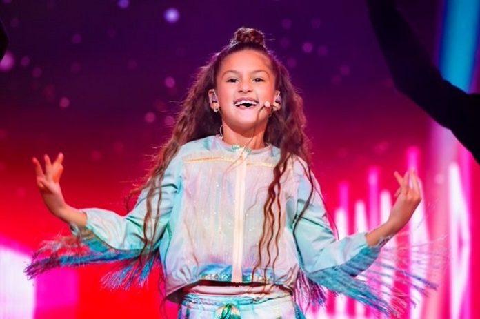 Soleá logra la tercera posición para España en Eurovisión Junior 2020