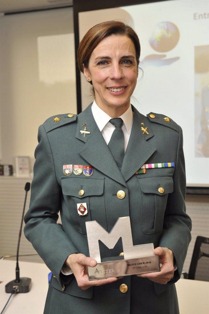 Silvia Gil, primera mujer que dirigirá una Comandancia de la Guardia Civil